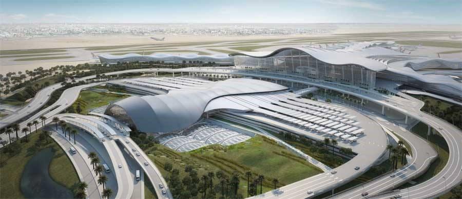 Projet nouvel aéroport d'Abu Dabi